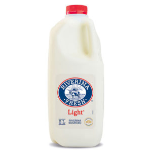 Riverina Light Fresh Milk